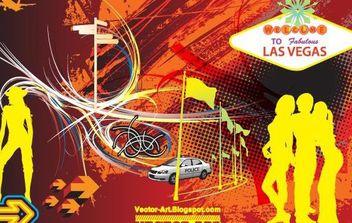 Fabulous Las Vegas - Free vector #171025