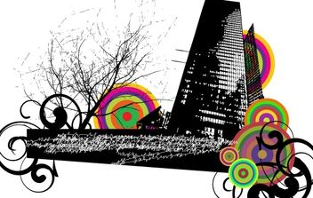 City vector - vector #171165 gratis