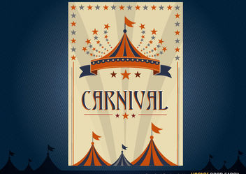 Carnival Poster Design - Free vector #171745
