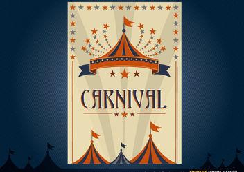 Carnival Poster Design - vector gratuit #171745