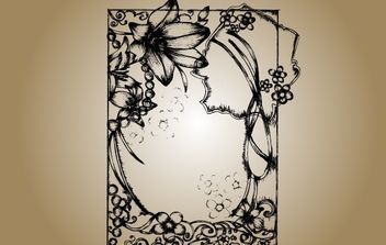 Sketchy Frame Vector - Free vector #172125
