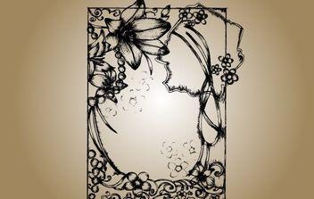 Sketchy Frame Vector - Kostenloses vector #172125