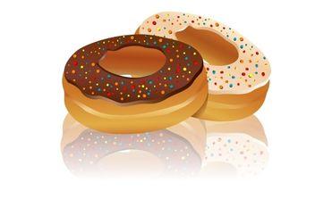 Delicious Doughnut - Free vector #172365