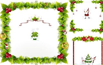 Christmas ornaments - Free vector #172485