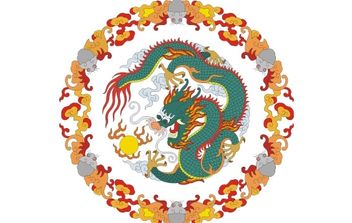 Chinese Dragon - vector gratuit #172745