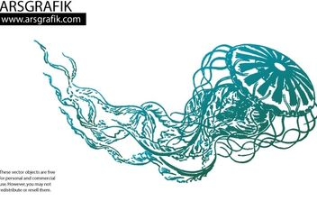 Jellyfish Vector - Free vector #172775