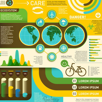 Environmental Ecology Infographic Design - Free vector #172905