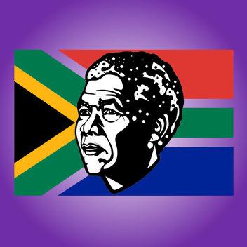 Sketchy Nelson Mandela Tribute - vector #173605 gratis