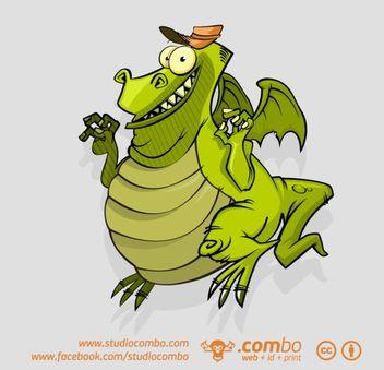 Lizard - Free vector #173615
