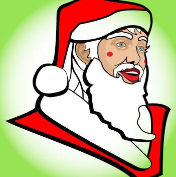 Funky Sketchy Santa Claus - vector #173635 gratis