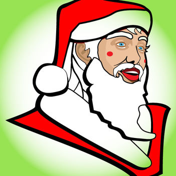 Funky Sketchy Santa Claus - бесплатный vector #173635