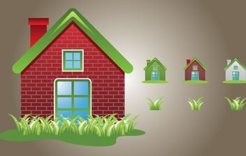 Home Icon Vector - Free vector #174315