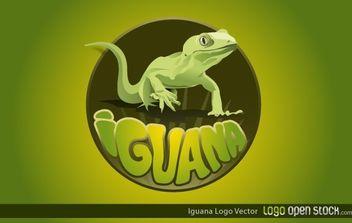 Iguana Logo - Free vector #174735