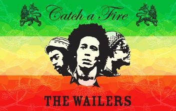 The Wailers Poster - vector gratuit #174805