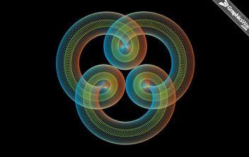 Spiro Circles - Free vector #174965