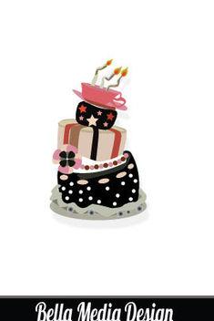 Crazy Cake - Free vector #175055