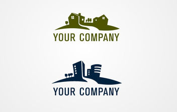 Real Estate Logo 02 - vector #175095 gratis