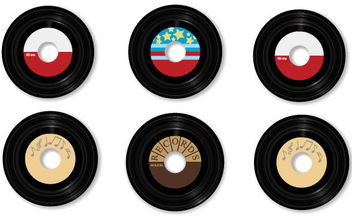 Vector Vinyls - Kostenloses vector #175135