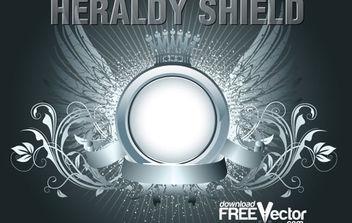 Free Vector Heraldry Shield. - Kostenloses vector #175175