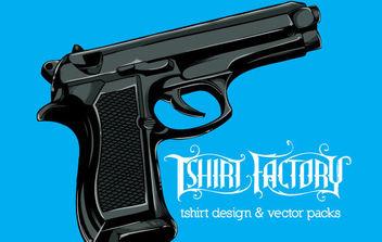 Free Vector Gun - Free vector #175395