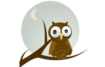 Free Vector Owl - Free vector #175425