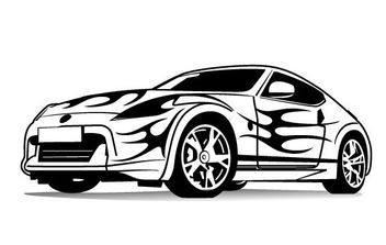 Sports Car Vector Image - Kostenloses vector #175455