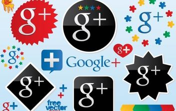 Google Plus Vector Logos - Kostenloses vector #175505