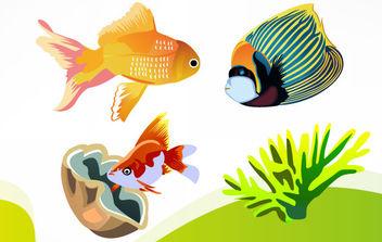 Free Vector Fish 4 - Free vector #175785