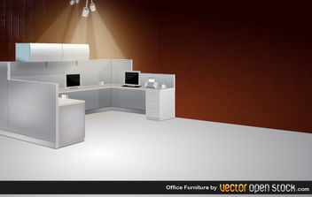 Office Furniture - Free vector #175795