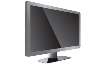 LCD TV - vector #176205 gratis