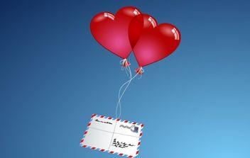 Love Letter - vector gratuit #176375