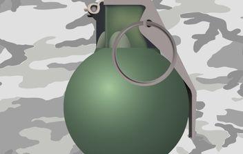 Grenade - Free vector #176495