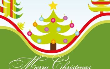 Christmas Time - vector gratuit #176745