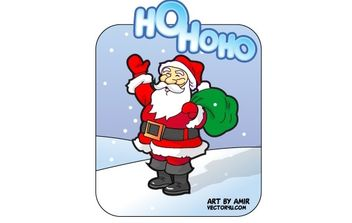Santa Claus vector - vector #176865 gratis