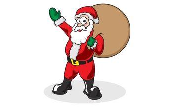 Free Santa Vector - Kostenloses vector #176895