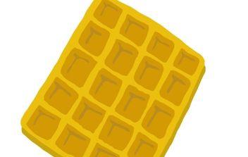 Waffle clip art - бесплатный vector #177135