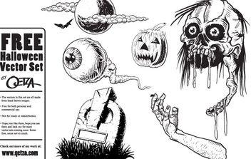 Free Halloween Vectors - Free vector #177515