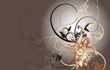 Swirly Curls - Sick Brush Kit - Free vector #177785