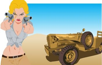 SARA SAHARA - Free vector #177805