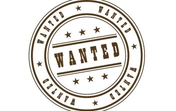 Wanted Stamp - vector #177955 gratis