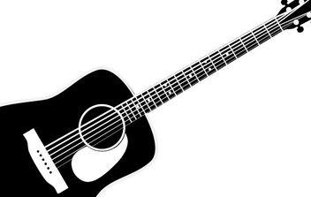 guitar - Free vector #178035
