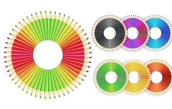 Free vector Crazy pencils - vector #178275 gratis