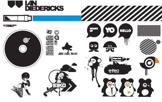 Free Eiko Pack - Free vector #178425