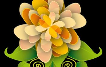 Flower - vector gratuit #178635