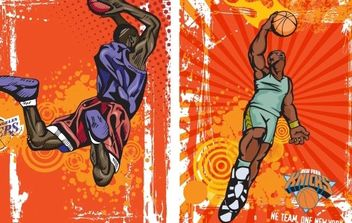 BASKETBALL VECTOR - vector #178735 gratis