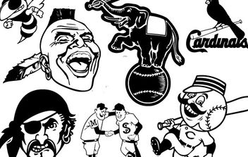 Baseball Club Characters - vector #178785 gratis