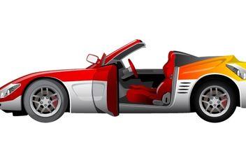 Vector Sport Car - Free vector #178815