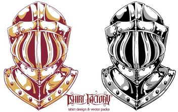 Knight helmet - vector #179345 gratis