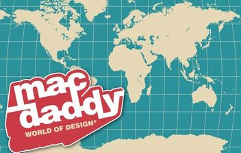MacDaddy World - Kostenloses vector #179395