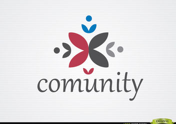 Community team logo - vector #179925 gratis